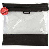 Lyle Seeyourstuff Clear Storage Bags 12X13-Pink