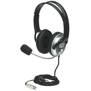 Manhattan Classic Stereo Headset - Quality audio with flexible microphone boom