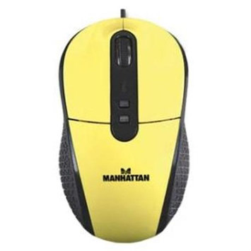 Manhattan 177689 RightTrack Mouse (Yellow)