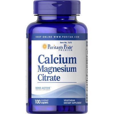 Puritan's Pride Calcium Magnesium Citrate-100 Caplets