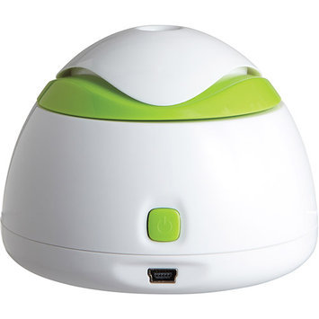Healthsmart Travel Mate Cool Mist Personal Ultrasonic Humidifier (White)