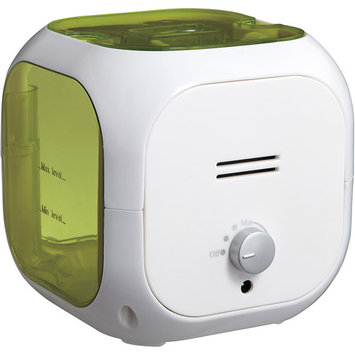 Healthsmart Cube Mate Cool Mist Ultrasonic Humidifier (Green)
