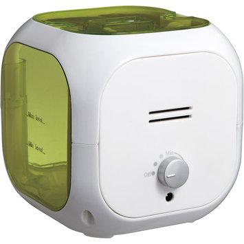 Healthsmart Cube Mate Cool Mist Ultrasonic Humidifier (Green)
