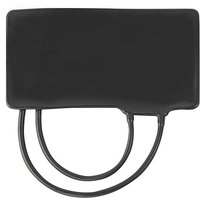 Mabis 05283021 Replacement Bladder Two Tube Black Latex Adult