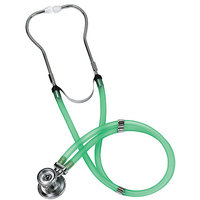 Mabis Healthcare MABIS Legacy Sprague Rappaport Type Stethoscope - Slider Pack, Adult - Frosted Green