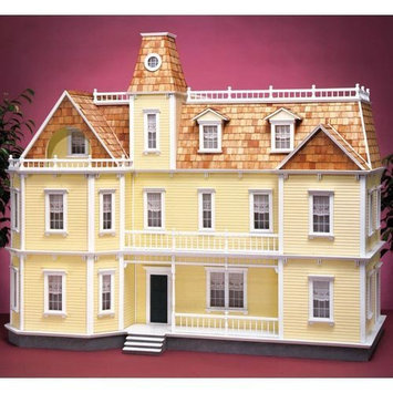 Real Good Toys Bostonian Dollhouse Kit - 1 Inch Scale