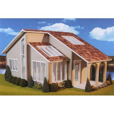 Real Good Toys Contemporary Ranch Dollhouse Kit