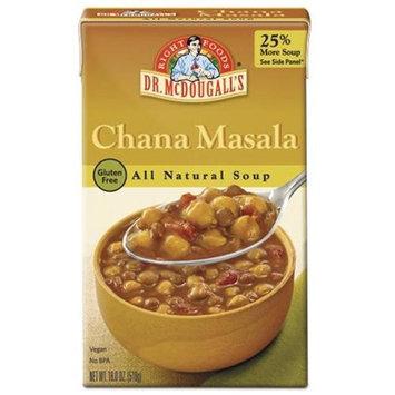 Dr. McDougall's Soup Gluten Free Chana Masala - 18 fl oz - Vegan