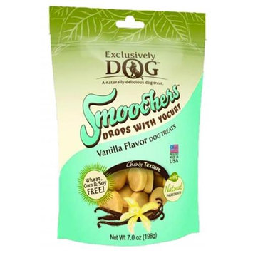 Exclusively Pet Smoochers Drops With Yogurt Dog Treats 7 Ounce Vanilla 49000