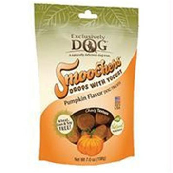 Exclusively Pet Smoochers Drops With Yogurt Dog Treats / Flavor (Pumpkin)