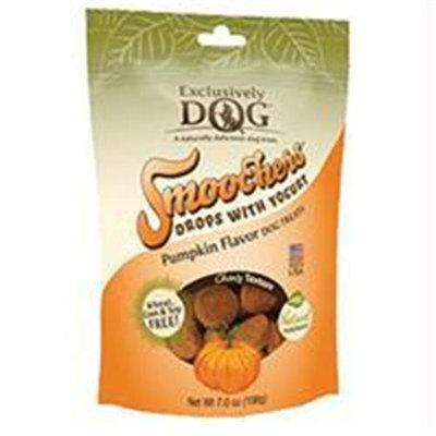 Exclusively Pet Smoochers Drops With Yogurt Dog Treats / Flavor (Pumpkin)