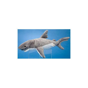 Smiley Gray Shark 12 by Douglas Cuddle Toys