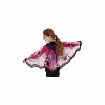 Douglas Toys Butterfly Wings w/Glitter Eyes Pink