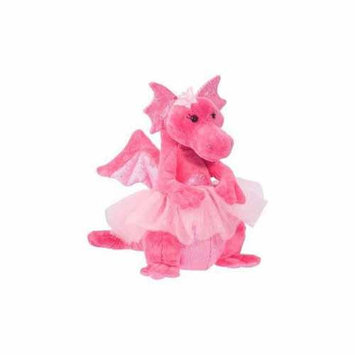 Douglas Cuddle Toys Dazzly Dragon with Tutu