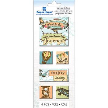 Paper House Productions Paper House STCA15E Paper House Canvas Stickers -Journey