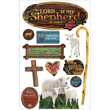 Paper House 3D Stickers-Lord Is My Shepherd