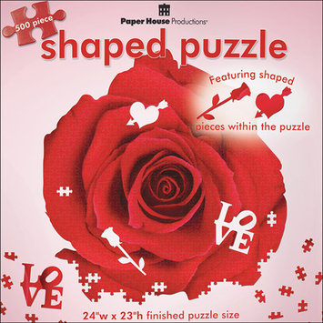 Paper House Red Rose Puzzle