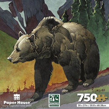 Paper House National Wildlife Federation Jigsaw Shaped Puzzle (750-Piece), 20 x 27, Hummingbird 151212 PAPER HOUSE