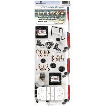 Paper House 348504 Paper House Cardstock Stickers-Hockey