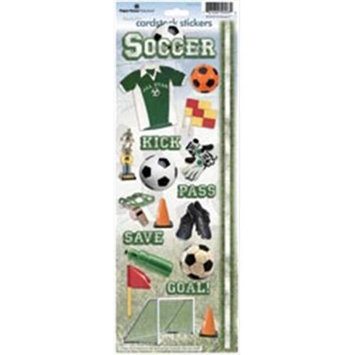 Paper House Cardstock Stickers-Soccer 2