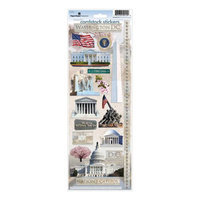 Paper House Cardstock Stickers-Washington DC 2