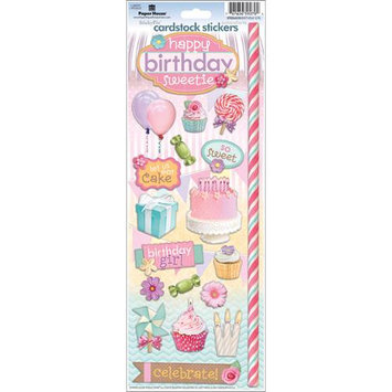 Paper House Cardstock Stickers-Birthday Girl