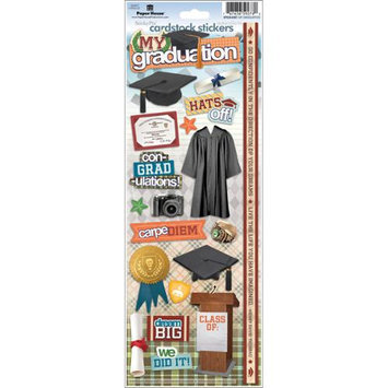 Paper House Cardstock Stickers-My Graduation