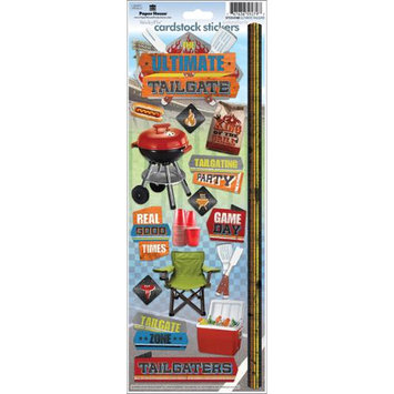 Paper House Cardstock Stickers-Ultimate Tailgate