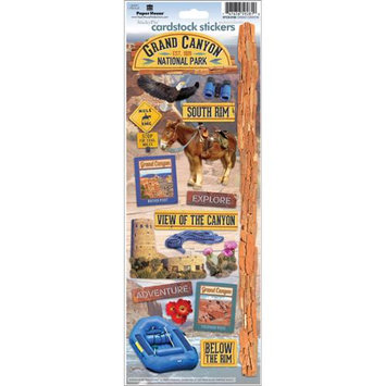 Paper House Cardstock Stickers-Grand Canyon