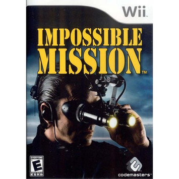 Crave Impossible Mission Video Game - Nintendo Wii