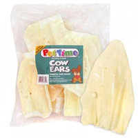 Cadet Pet Time Cow Ears Natural 12 ct Bag