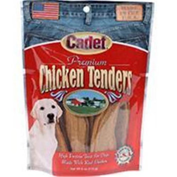 Cadet Premium Chicken Tenders Dog Treats Size: 6 Ounce.