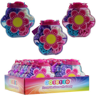 Galerie Flower Necklace with Candy, 1 oz, Pack of 12