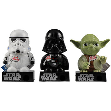 Galerie Star Wars Candy Pieces Dispenser with Sound, 0.3 oz, Pack of 4