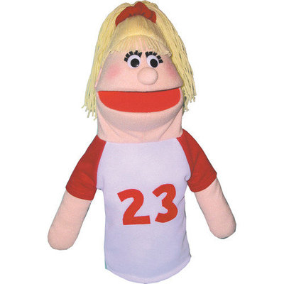 Get Ready Kids Sports Girl Puppet