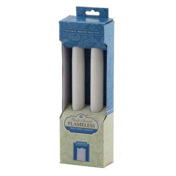 Pacific Accents Wax Flameless Tapers Candle (Set of 2)