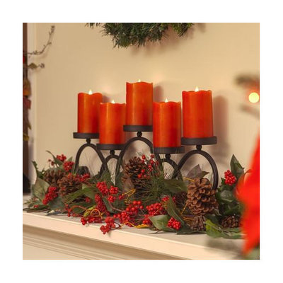 Pacific Accents Solare Flameless Candle Size: 5