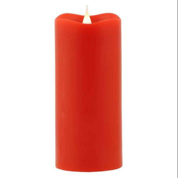 Pacific Accents Solare Flameless Candle Color: Cranberry, Size: 7