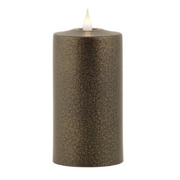 Pacific Accents Solare Flameless Candle Color: Espresso