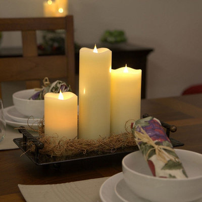 Pacific Accents Solare Flameless Candle Size: 7.5