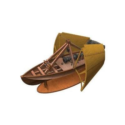 Elenco Da Vinci Ship Cannon with Shield ELEX6123 ELENCO ELECTRONICS
