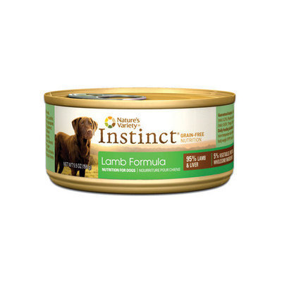 ture's Variety Instinct Limited Ingredient Diet Lamb Canned Dog Food Size: 13.2 oz.