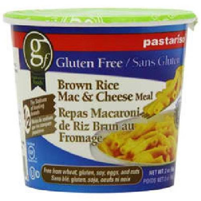 Pastariso Gluten Free Low Sodium Brown Rice Mac & Cheese Meal 2 oz