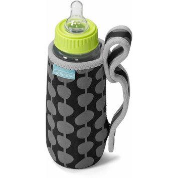 Infantino 'Hold It' Neoprene Bottle Sleeve - Black/Grey