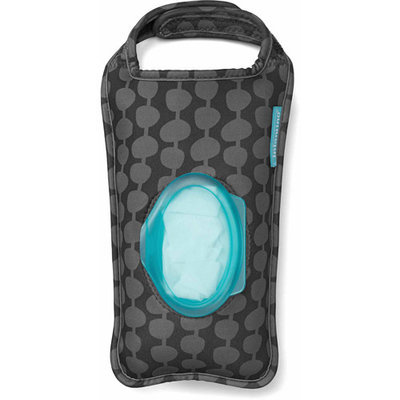 Infantino 'Wipes Out' Neoprene Wipes Pouch - Black/Grey