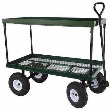 Millside Industries Inc. 20 X 38 Metal Double Decker Wagon