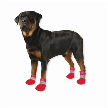 Pedigree Perfection Intl Inc. Paw Tectors PT-S-RED Water Proof Boot Red small