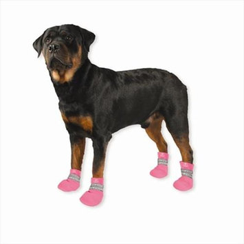 Pedigree Perfection Intl Inc. Paw Tectors PT-L-PINK Water Proof Boot Pink large
