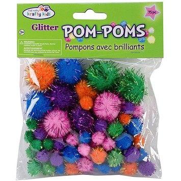 Multicraft Imports NOTM154316 - Pom-Poms Glitter Pack