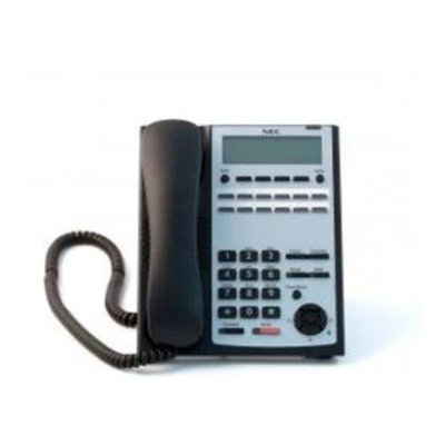 NEC-1100061Sl1100 12-button Full-duplex Tel [black]